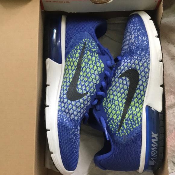 3ad2ea66c43ce Nike air max sequent 2 paramount blue  Black volt.  M 5b7c4afa7c979d44b84a3b46